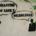 Just because you are facing a deadline does not mean that it is real