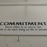 Commitment is the key to getting what you want from a negotiation