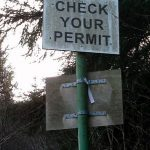 Do you need a permit during a negotiation?